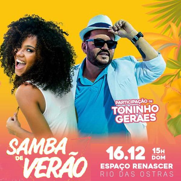 Samba de Verão em Rio das Ostras