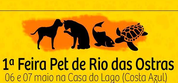1ª Feira Pet de Rio das Ostras