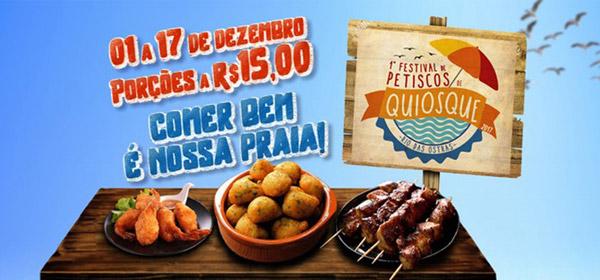 I Festival de Petiscos de Quiosques de Rio das Ostras