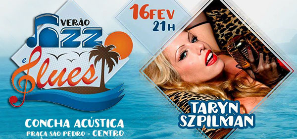 Taryn Szpilman faz show nesta sexta, 16, em Rio das Ostras