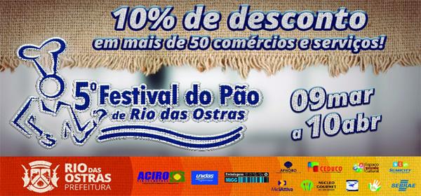 5º Festival do Pão de Rio das Ostras