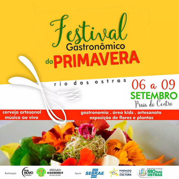Festival Gastronômico da Primavera
